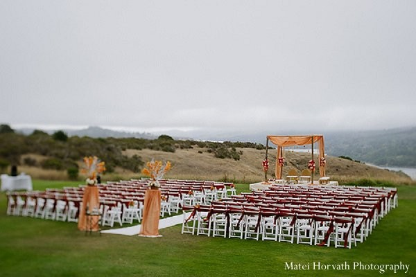 Mandap in San Francisco, CA Indian Wedding by Matei Horvath Photography