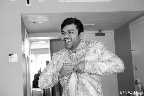 Getting Ready in Tarrytown, NY Indian Wedding by KSD Weddings