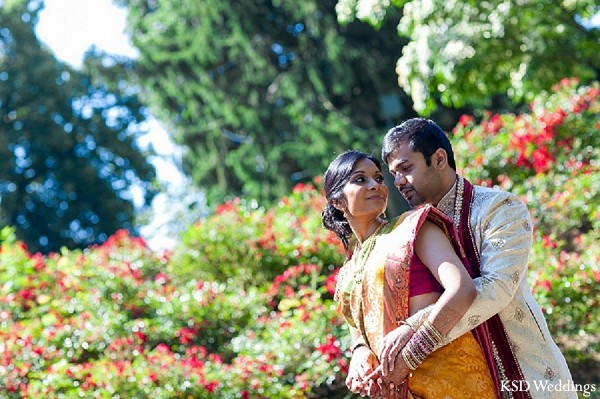 Portraits in Tarrytown, NY Indian Wedding by KSD Weddings