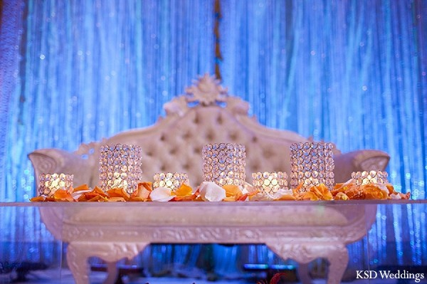 Floral & Decor in Tarrytown, NY Indian Wedding by KSD Weddings