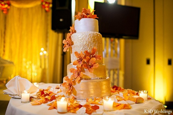 Cakes & Treats in Tarrytown, NY Indian Wedding by KSD Weddings
