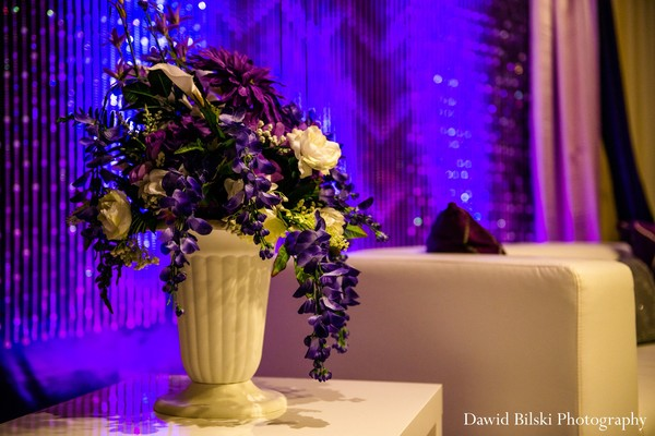 Floral and decor in Newark, CA Indian Engagement by Dawid Bilski Photography