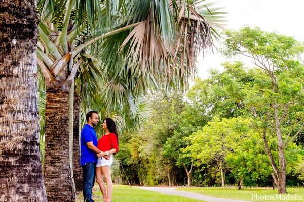 Engagement in Miami, FL Indian Engagement by PhotosMadeEz