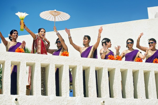 Baraat in Cancun, Mexico Destination Indian Wedding by Photographick Studios