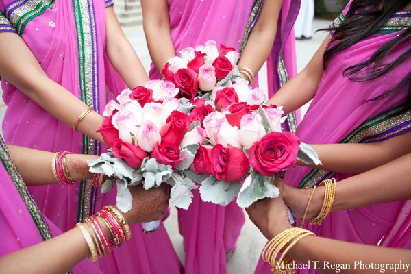 indian bridal party,indian bridesmaids,indian bridesmaid outfits,indian bride,indian groom,indian groomsmen,indian sari,indian weddings