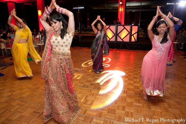 Reception in Marina del Rey, CA Indian Fusion Wedding by Michael T. Regan Photography