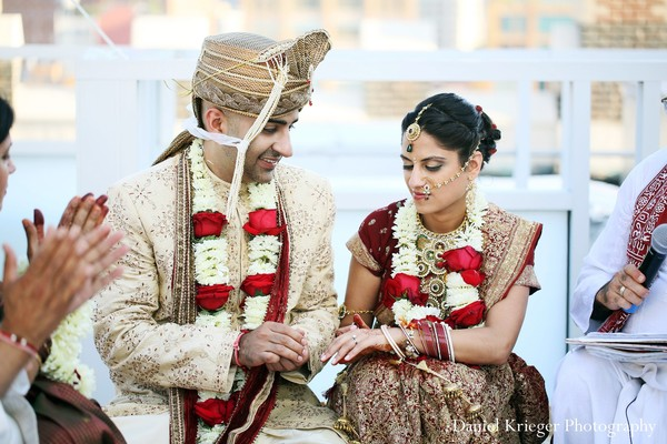 New york ny indian wedding by daniel krieger photography for Indian wedding dresses new york