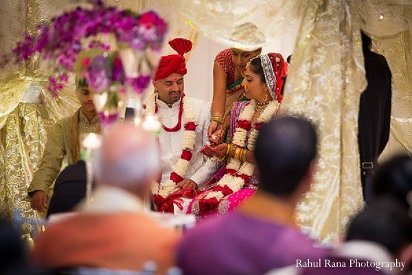 Ceremony in Bartlett, IL Indian Wedding by Rahul Rana Photography