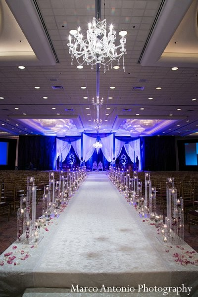 Ceremony in Rosemont, IL Indian Wedding by Marco Antonio Photography