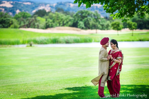 Portraits in San Jose, California Indian Wedding by Dawid Bilski Photography
