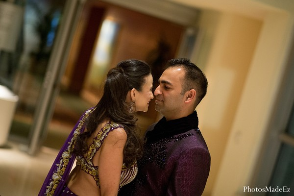 Sangeet in Miami, FL Indian Fusion Wedding by PhotosMadeEz