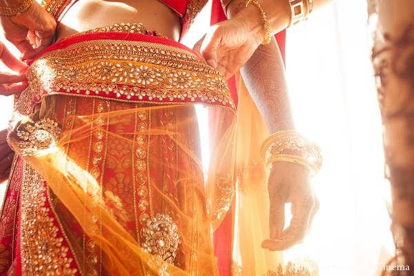Getting ready in Newport, RI Indian Wedding by Kumari Photo and Cinema