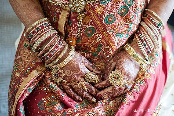 Mehndi in Philadelphia, PA Indian Wedding by Joie Elie Photography