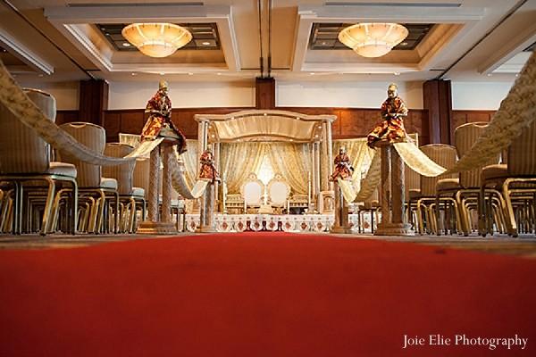 Philadelphia pa indian wedding by joie elie photography maharani mandap designwedding designwedding decorwedding ceremony decorwedding mandap junglespirit Gallery