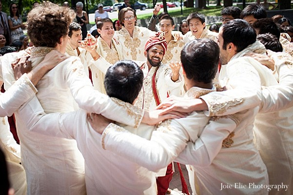 Baraat in Philadelphia, PA Indian Wedding by Joie Elie Photography