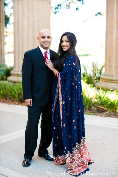 Engagement portrait in San Francisco, CA Indian Engagement by Naveed Ahmad Photography