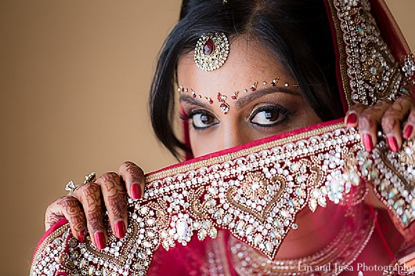 Getting ready in San Diego, CA Indian Wedding by Lin and Jirsa Photography