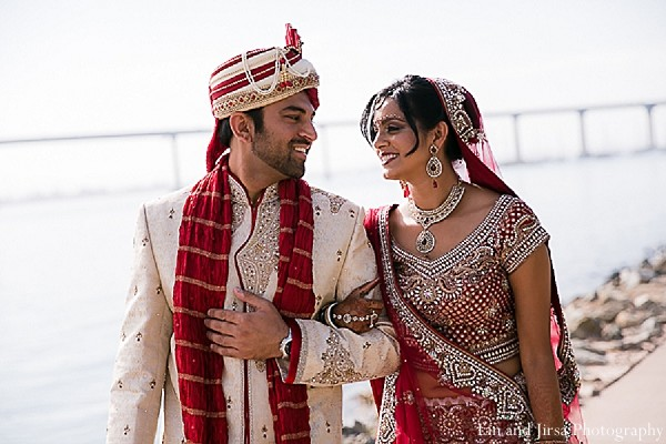 Portraits in San Diego, CA Indian Wedding by Lin and Jirsa ...