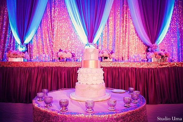 Cakes and treats in Houston, TX Indian Fusion Wedding by Studio Uma