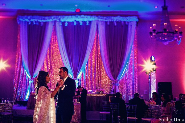 Reception in Houston, TX Indian Fusion Wedding by Studio Uma