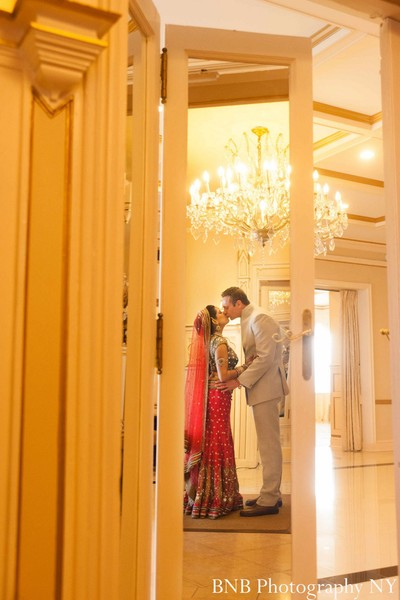 Portraits in New Rochelle, NY Indian Wedding by BNB Photography NY