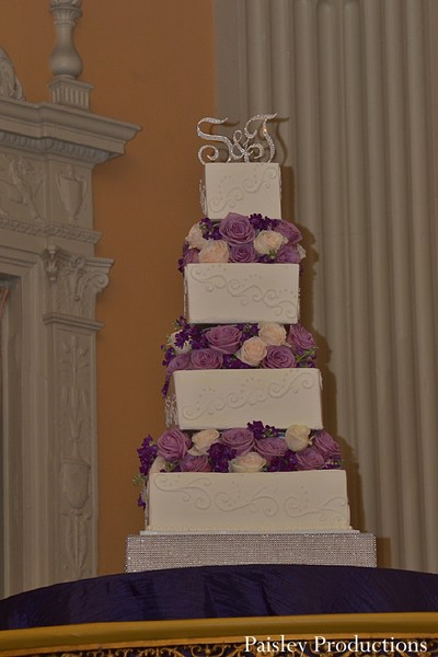 Cakes and treats in Fresno, CA Indian Wedding by Paisley Productions