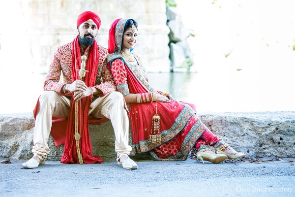 Portraits in Toronto, Canada Indian Wedding by Desi Intervention Photography
