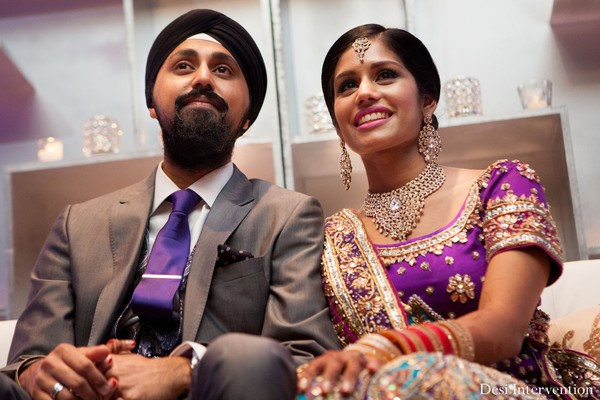 Reception in Toronto, Canada Indian Wedding by Desi Intervention Photography