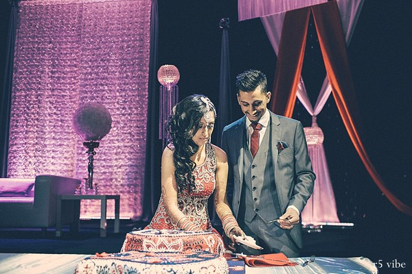 Reception in Ontario, Canada Indian Wedding by r5 vibe