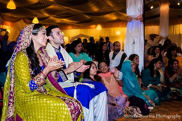 Sangeet in fremont ca pakistani wedding by sameer soorma for Indian jewelry in schaumburg il