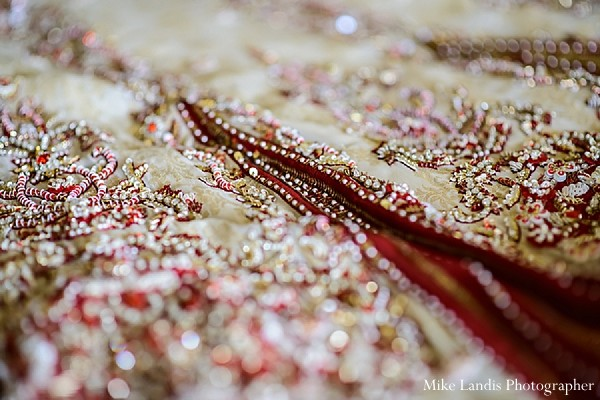 Getting ready in Garfield, NJ Indian Fusion Wedding by Mike Landis Photographer