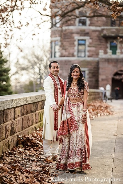 Portraits in Garfield, NJ Indian Fusion Wedding by Mike Landis Photographer