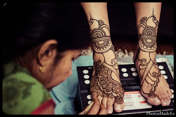 Mehndi designs in Jersey City, NJ Indian Wedding by PhotosMadeEz