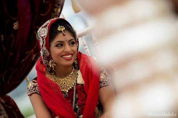 Portraits in Jersey City, NJ Indian Wedding by PhotosMadeEz