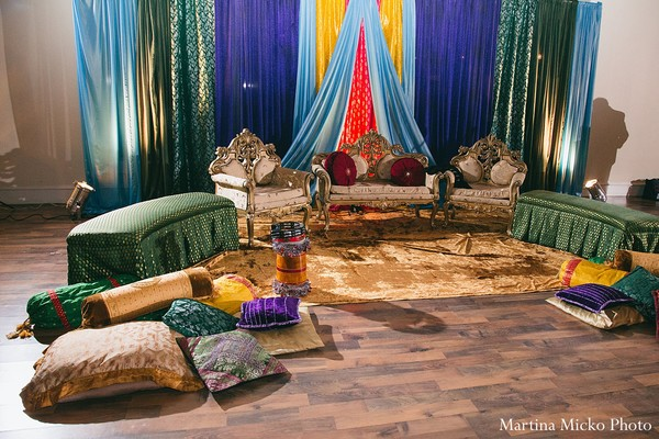 Mehndi night in Dallas, TX Indian Wedding by Martina Micko Photo