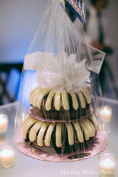 Cakes and treats in Dallas, TX Indian Wedding by Martina Micko Photo