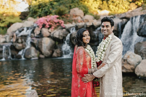 Portraits in Westlake Village, CA Indian Wedding by William Kim Photography