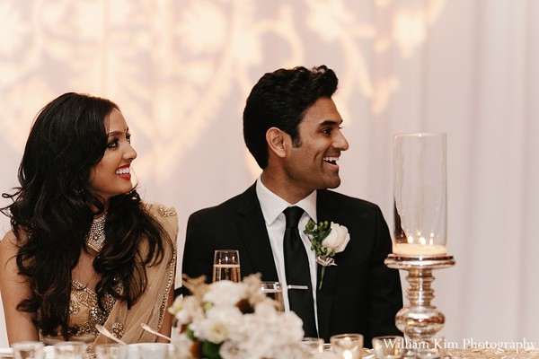 Reception portraits in Westlake Village, CA Indian Wedding by William Kim Photography