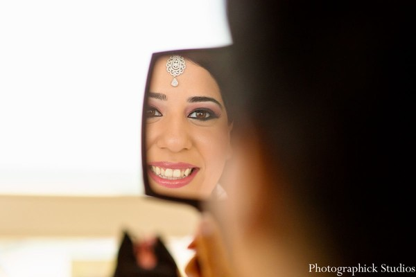 Getting Ready in Vienna, VA Indian Wedding by Photographick Studios
