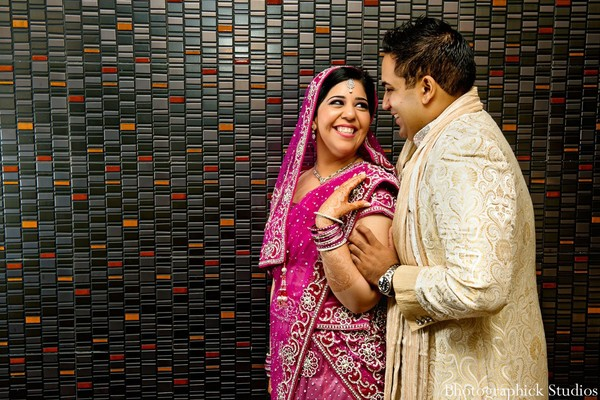 Portraits in Vienna, VA Indian Wedding by Photographick Studios