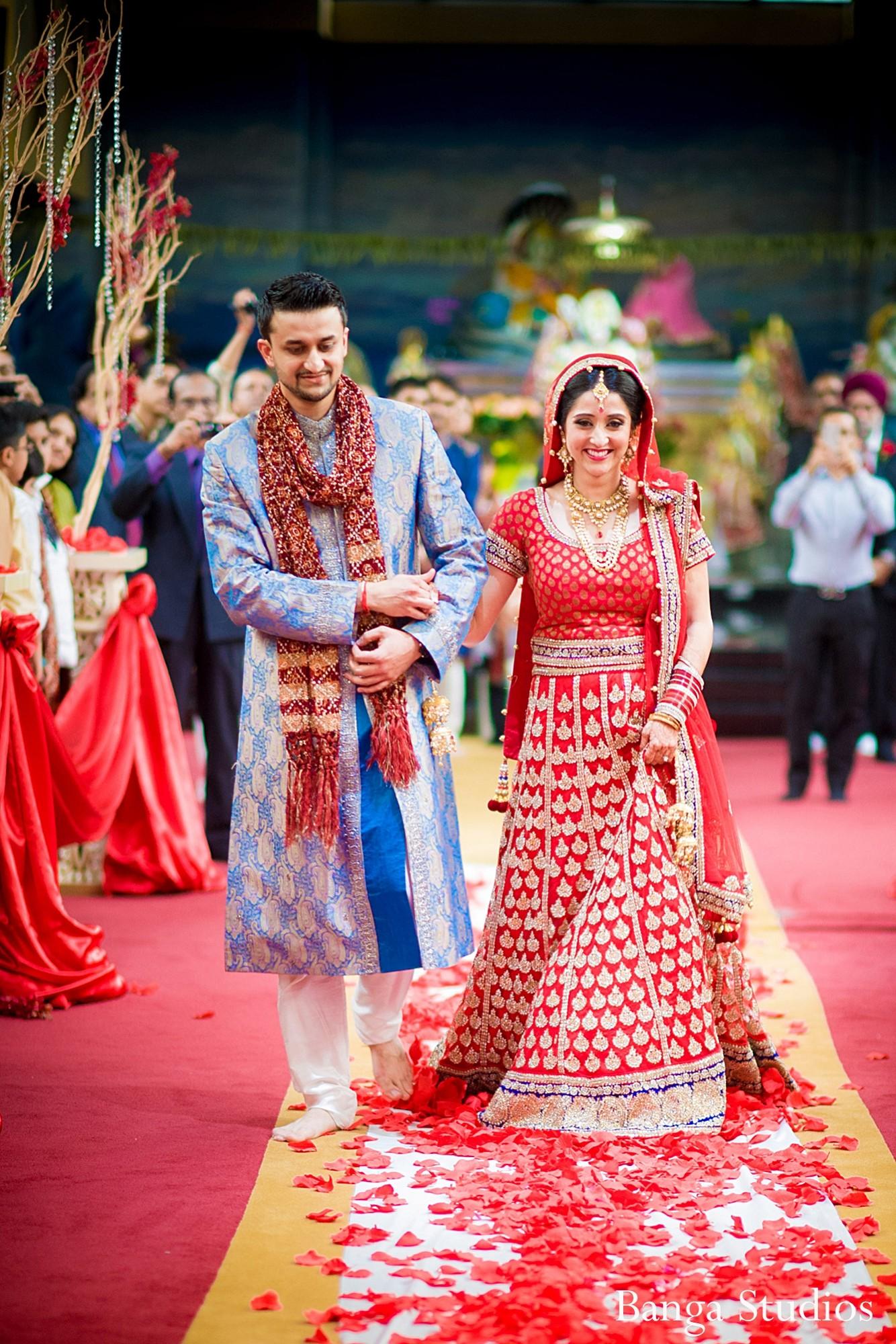 Hindu ceremony in Toronto Canada Indian Wedding