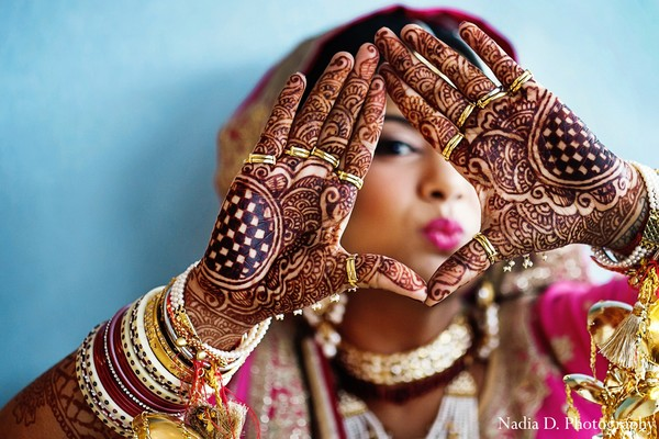 Mehndi Artists in Washington, DC Indian Wedding by Nadia D. Photography