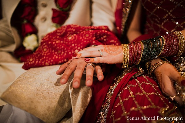 Ceremony in Hanover, MD Indian Wedding by Senna Ahmad Photography