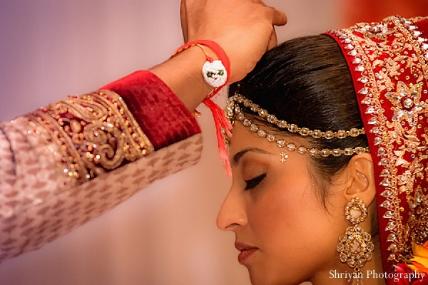 Ceremony in Tampa, FL Indian Wedding by Shriyan Photography