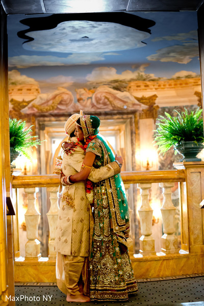 Portraits in New York, NY Indian Wedding by MaxPhoto NY