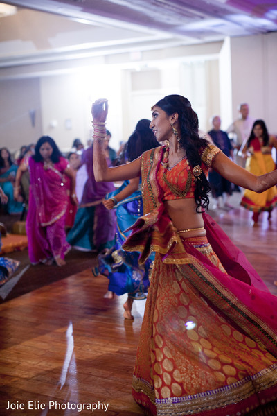 Sangeet in Mahwah, NJ Indian Wedding by Joie Elie Photography