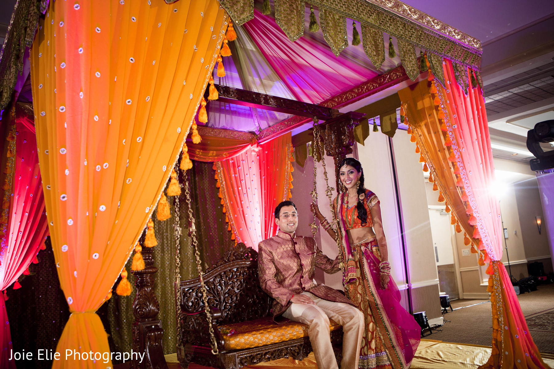 Sangeet In Mahwah NJ Indian Wedding By Joie Elie Photography