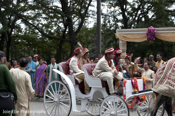 Ceremony in Mahwah, NJ Indian Wedding by Joie Elie Photography