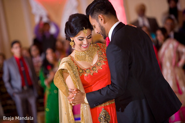 Reception in Los Angeles, CA Indian Wedding by Braja Mandala