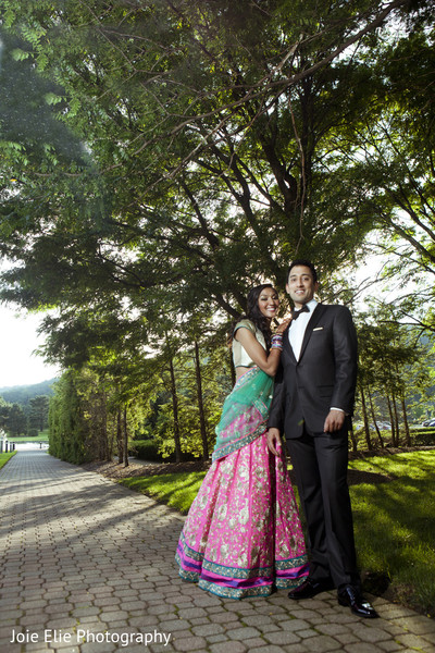 Portraits in Mahwah, NJ Indian Wedding by Joie Elie Photography